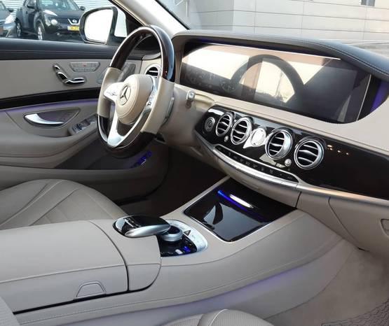 מרצדס S-Class V222 2020 -  פנים הרכב
