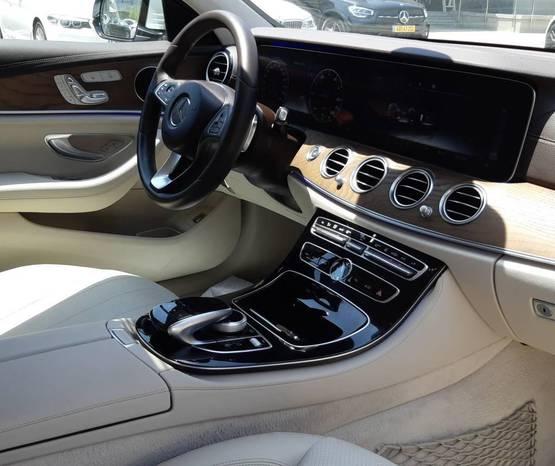 מרצדס E-Class 2018 -  פנים הרכב