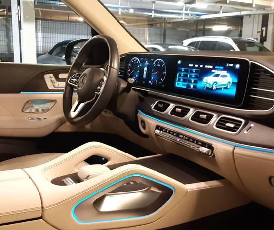מרצדס GLE 2021 -  פנים הרכב