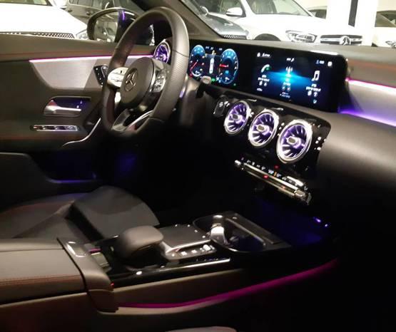 מרצדס CLA 2021 -  פנים הרכב