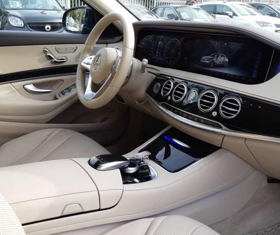 מרצדס S-Class V222 2019 -  פנים הרכב