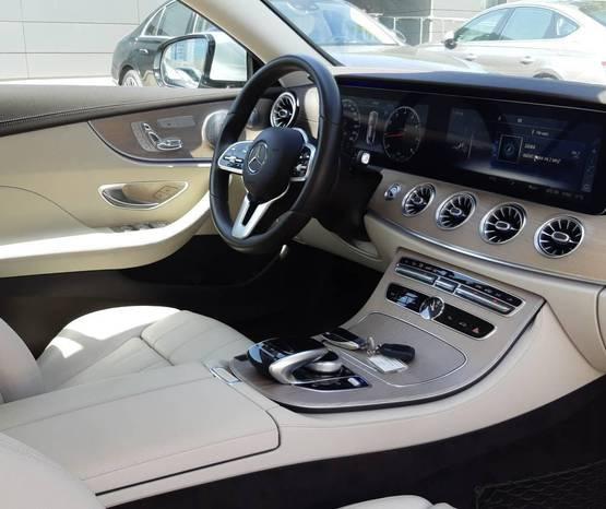מרצדס E Coupe/Cabrio 2021 -  פנים הרכב
