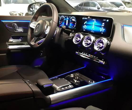 מרצדס New GLA 2020 -  פנים הרכב