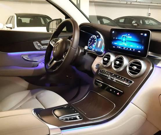 מרצדס GLC COUPE 2021 -  פנים הרכב