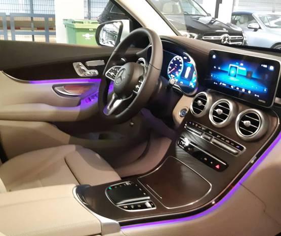 מרצדס GLC 2021 -  פנים הרכב