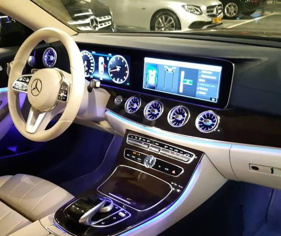 מרצדס E Coupe/Cabrio שנת 2019 יד ראשונה