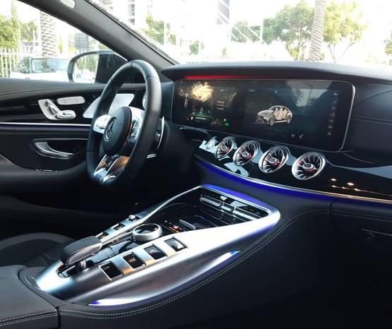 מרצדס יבוא אישי 2020 -  פנים הרכב
