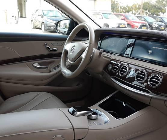 מרצדס S-Class V222 2017 -  פנים הרכב